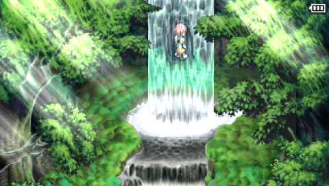 Tales of Destiny II PSP Near entrance to hidden cave