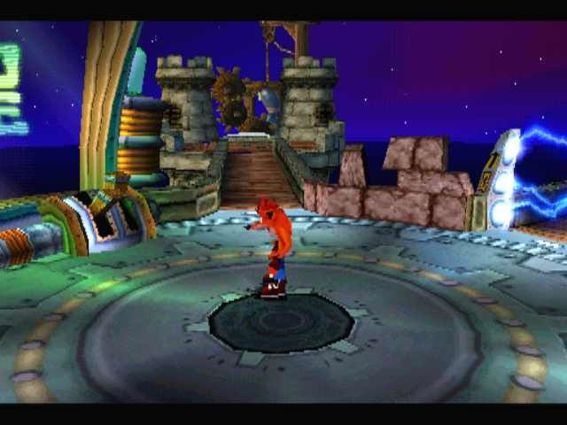 Crash Bandicoot: Warped PlayStation The central room leads to (almost) all levels, reducing traveling time.
