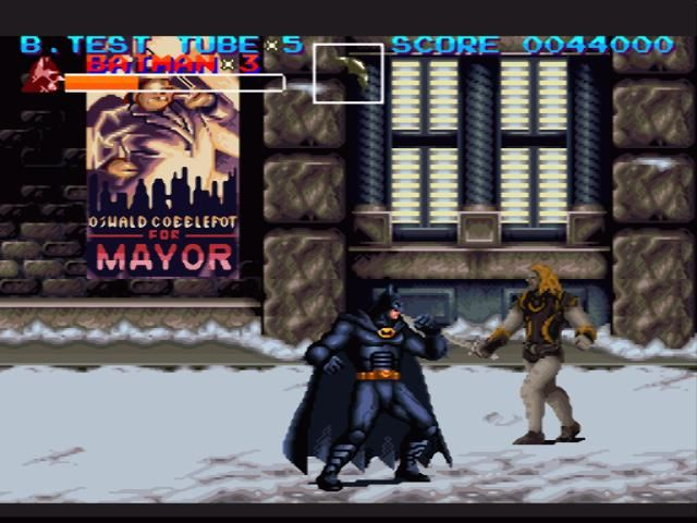 Retro Game Of The Week Batman Returns Pixlbit