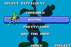 Jazz Jackrabbit Game Boy Advance There are four difficulty levels in the game.