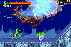 Jazz Jackrabbit Game Boy Advance You will need money to buy weapons later in the game.
