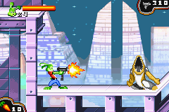 Jazz Jackrabbit Game Boy Advance As you progress, you will find better weapons.