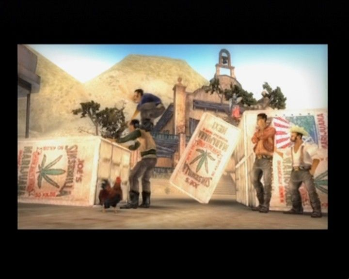 Total Overdose: A Gunslinger's Tale in Mexico PlayStation 2 These bandits are having a great time, at least some of them