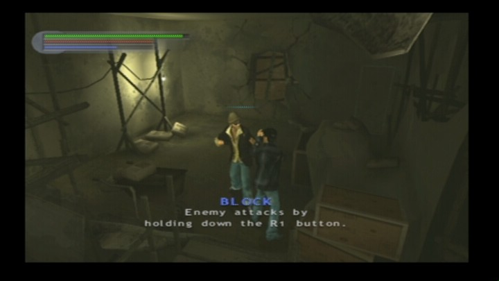 Rise to Honor PlayStation 2 Introducing chapters serve as tutorial for gameplay commands.