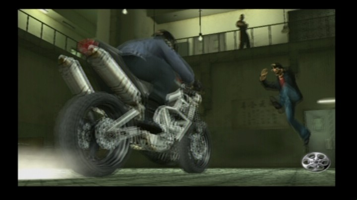 Rise to Honor PlayStation 2 This biker is going down.