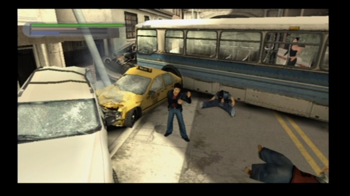 Rise to Honor PlayStation 2 Local gangs don't fight fair, thus could be harder to deal with on occasion.