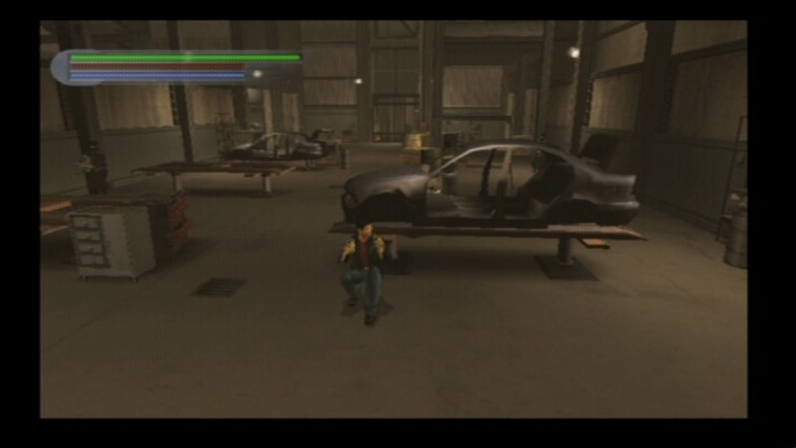 Rise to Honor PlayStation 2 When in shoot-out, you can use various objects as cover.