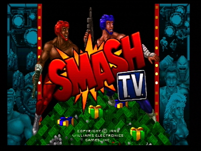 Smash T.V. Xbox 360 Title screen