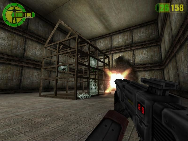 Red Faction Windows Some levels are solely to enjoy destructive power of your weapons, and glasses regenerate in time ;))