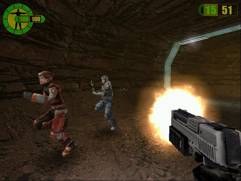 Red Faction Windows Saving your fella miner... but for how long?