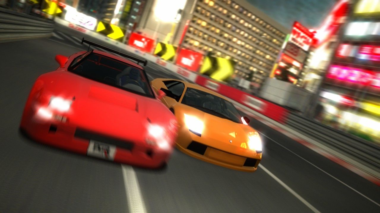 Project Gotham Racing 3 Xbox 360 Photo Mode: Tokyo.