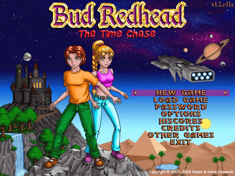 Bud chase game redhead time