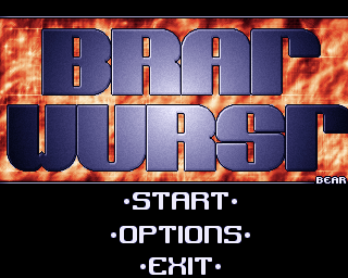 Bratwurst Amiga Title screen
