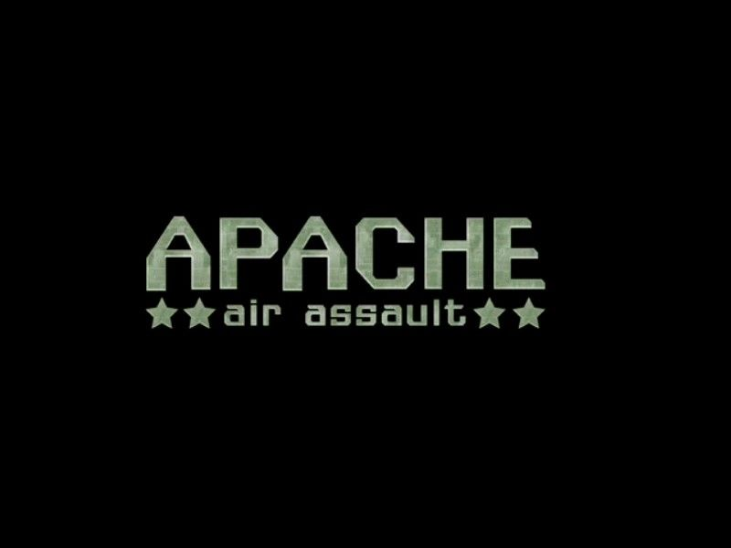 AH-64 Apache Air Assault Windows Title Screen.