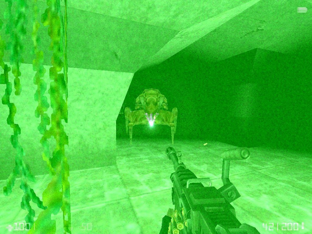 Half-Life: Opposing Force Windows Fighting in the sewers