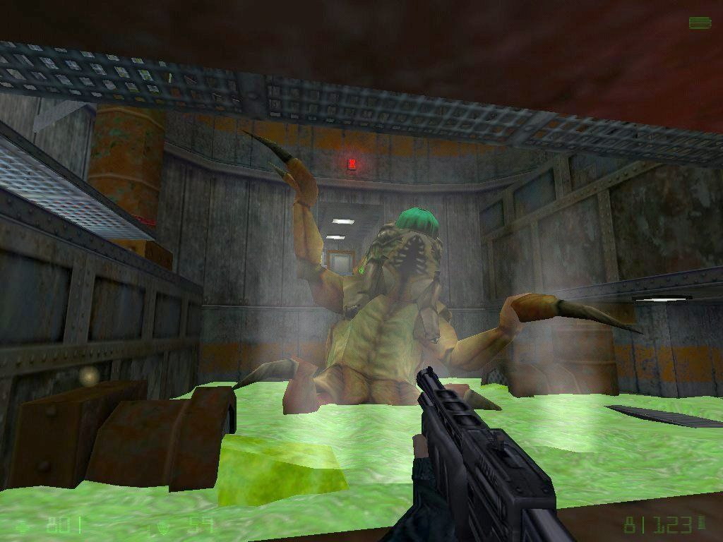Half-Life: Opposing Force Windows The pit worm boss