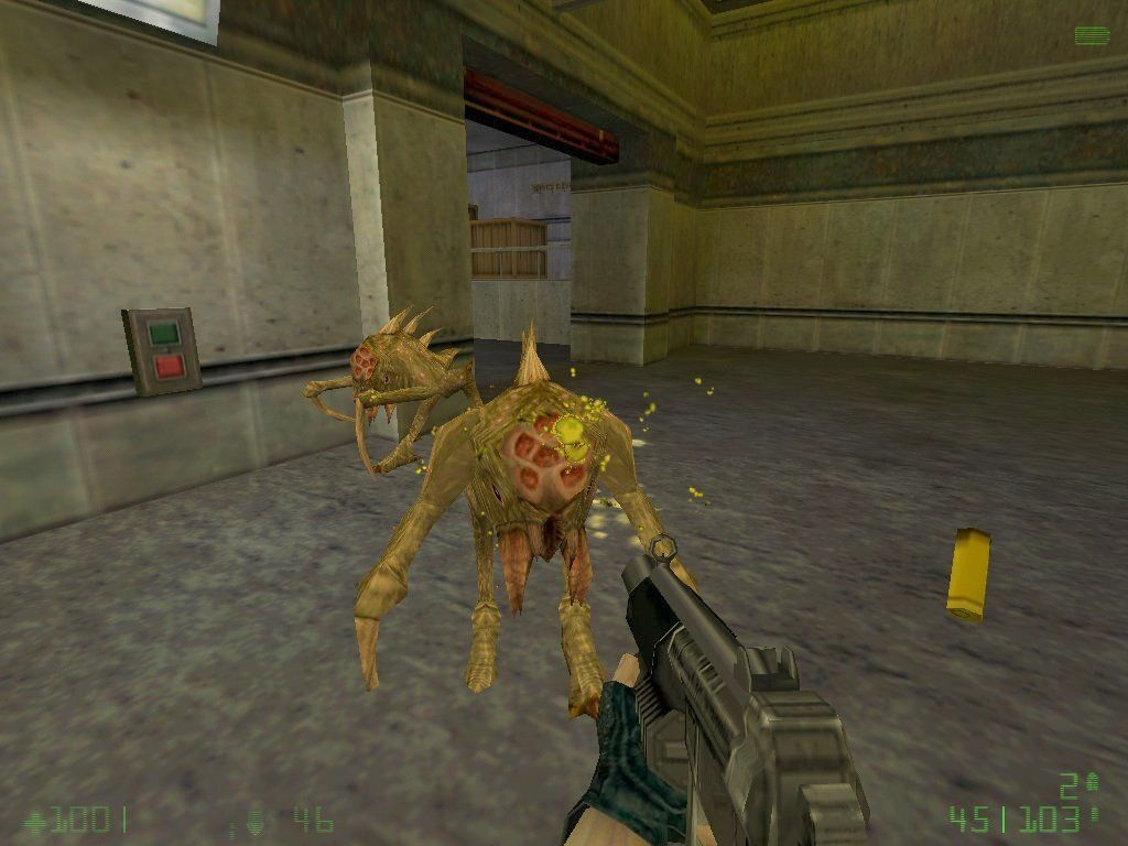 "Half-Life: Opposing Force Windows ""Race X"" aliens"