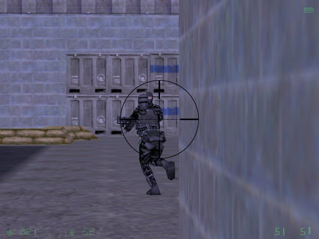 Half-Life: Opposing Force Windows Sniping some black ops