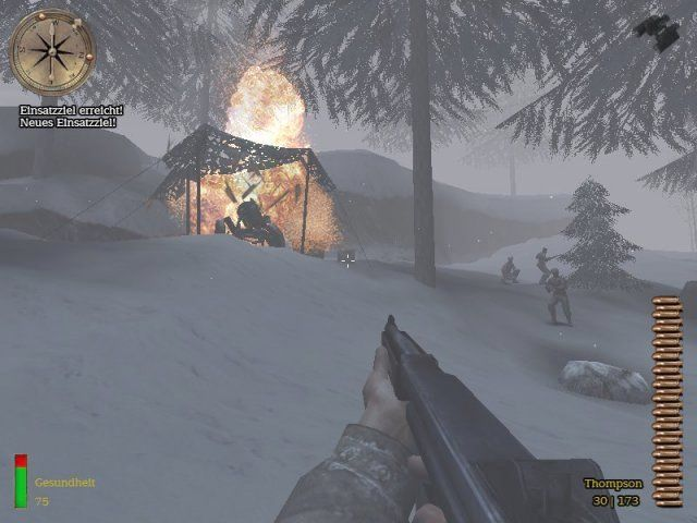 Medal of Honor: Allied Assault - Spearhead Windows Destroyed a Nebelwerfer rocket launcher