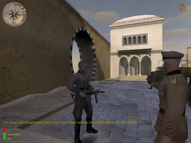 Medal of Honor: Allied Assault - Breakthrough Windows With some stolen Wehrmacht clothes you gain access to a german camp
