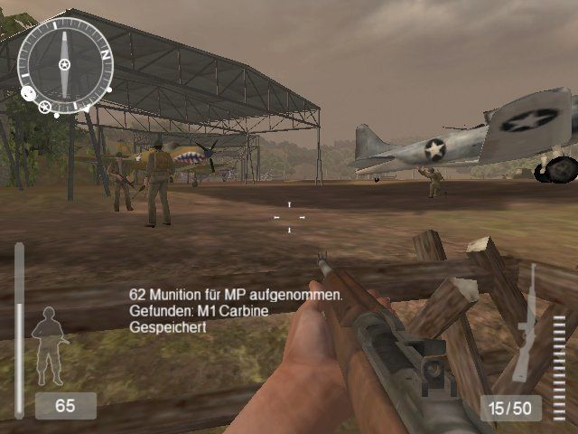 Medal of Honor: Pacific Assault (Director's Edition DVD) Windows An allied air field