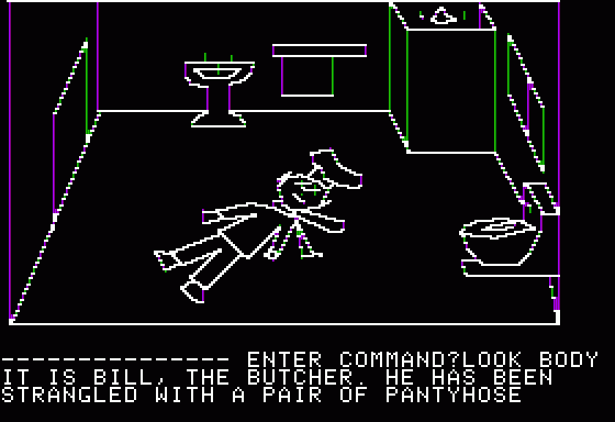 Hi-Res Adventure #1: Mystery House Apple II Yet another clue.