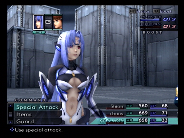 Xenosaga: Episode III - Also Sprach Zarathustra PlayStation 2 KOS-MOS