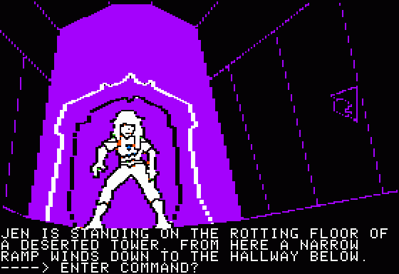 Hi-Res Adventure #6: The Dark Crystal Apple II Some more tunnel-crawlin'.