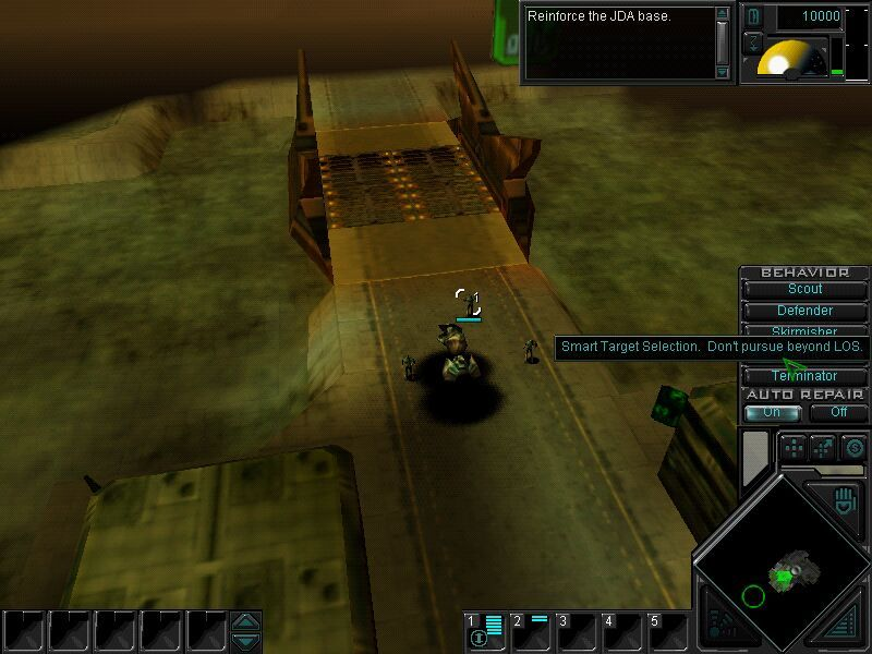 Dark Reign 2 Windows Setting the behaviour of my units.