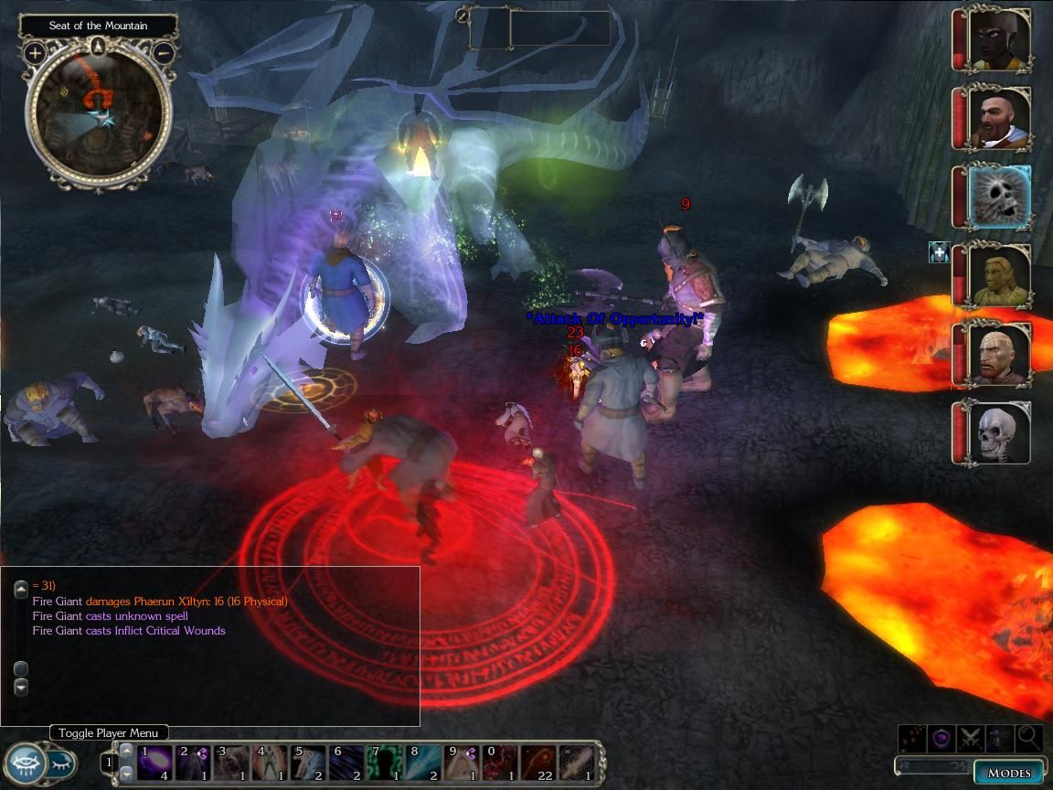 Neverwinter Nights 2 Windows This game has action...