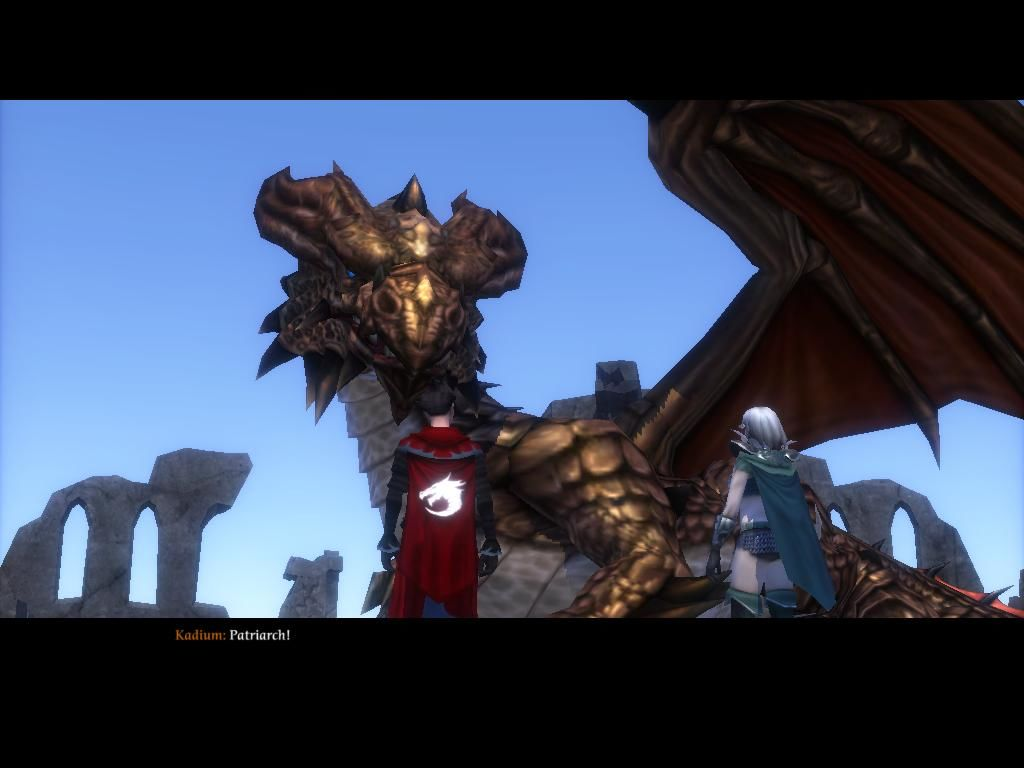 SpellForce 2: Shadow Wars Windows Dragons are your friend. Actually the main character is partly a dragon.