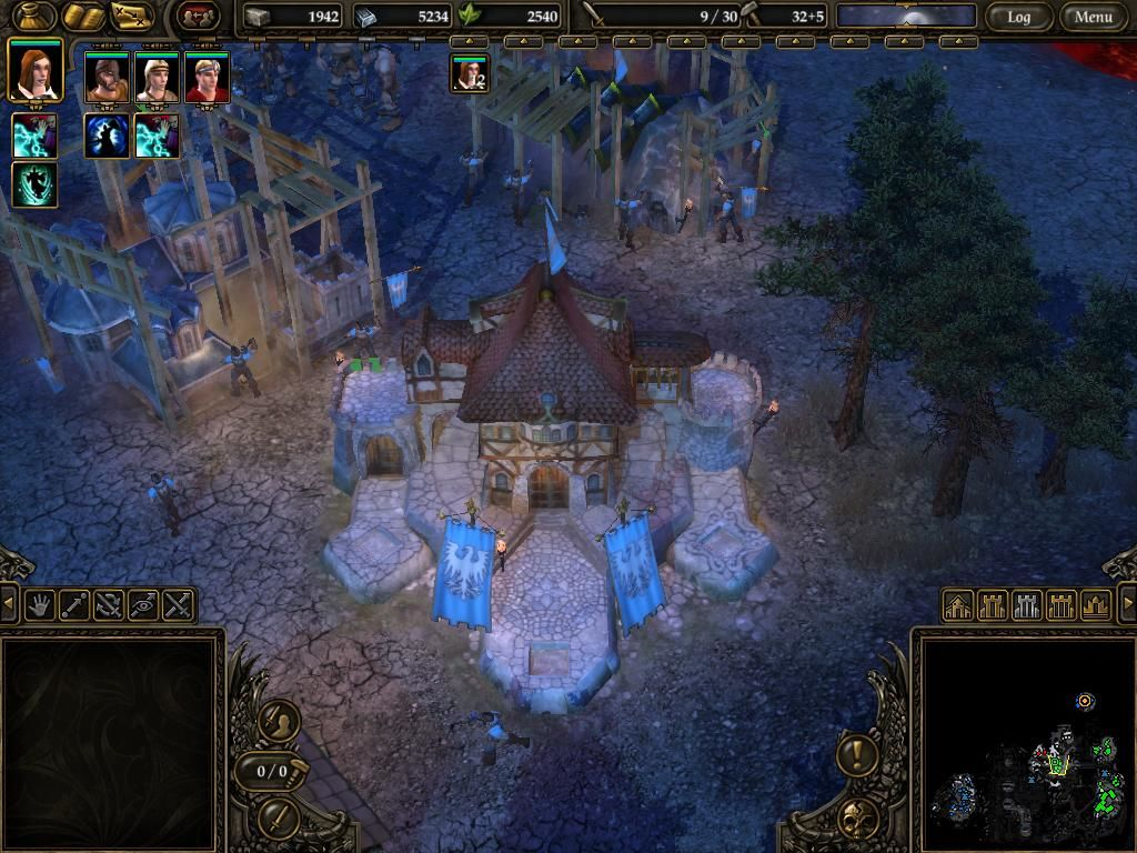 SpellForce 2: Shadow Wars Windows From time to time you get to play rts part of the game.