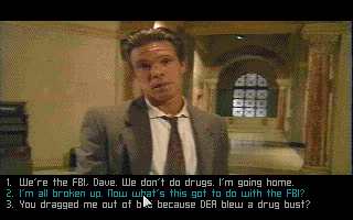 Flash Traffic:  City of Angels DOS Your colleague in the FBI - Dave.