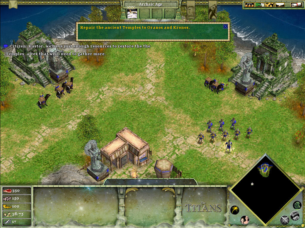 Age of Mythology: The Titans Windows Starting off Mission 1