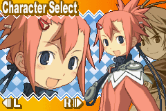 Summon Night: Swordcraft Story 2 Game Boy Advance Choose between a male or female character