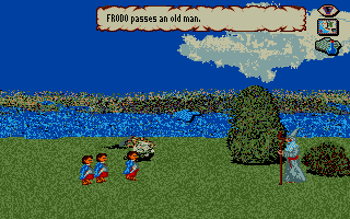 J.R.R. Tolkien's War in Middle Earth Atari ST Hobbits