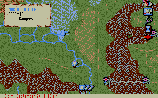 J.R.R. Tolkien's War in Middle Earth Atari ST East Gondor