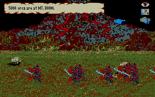 J.R.R. Tolkien's War in Middle Earth Atari ST Orcs