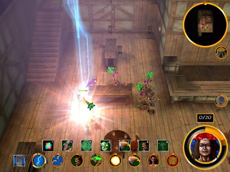 Magic & Mayhem: The Art of Magic Windows Indoor lightning? It's magic!