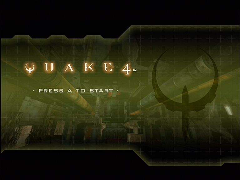 Quake 4 Xbox 360 Quake 4 title screen