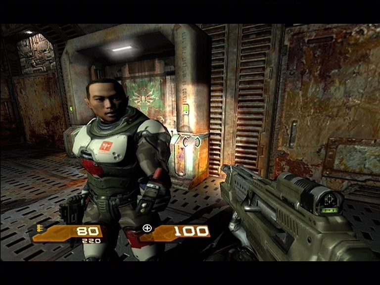 Quake 4 Xbox 360 Marine Medics can restore you back to full heath