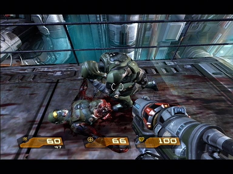 Quake 4 Xbox 360 Your allies really do take a beating in this game