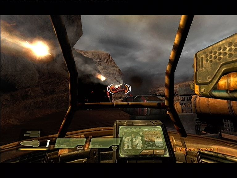 Quake 4 Xbox 360 Walkers are used to get from place to place and can take down larger Strogg with ease