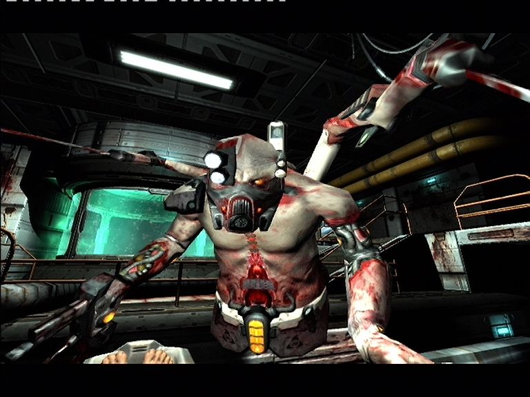 Quake 4 Xbox 360 The Strogg really are a ugly bunch!