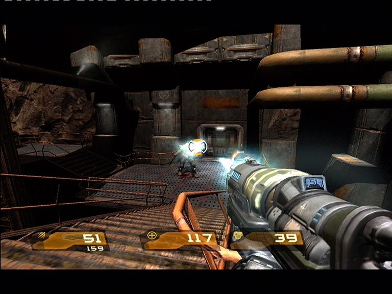Quake 4 Xbox 360 The Hyper Blaster is excellent at suppressing enemy fire
