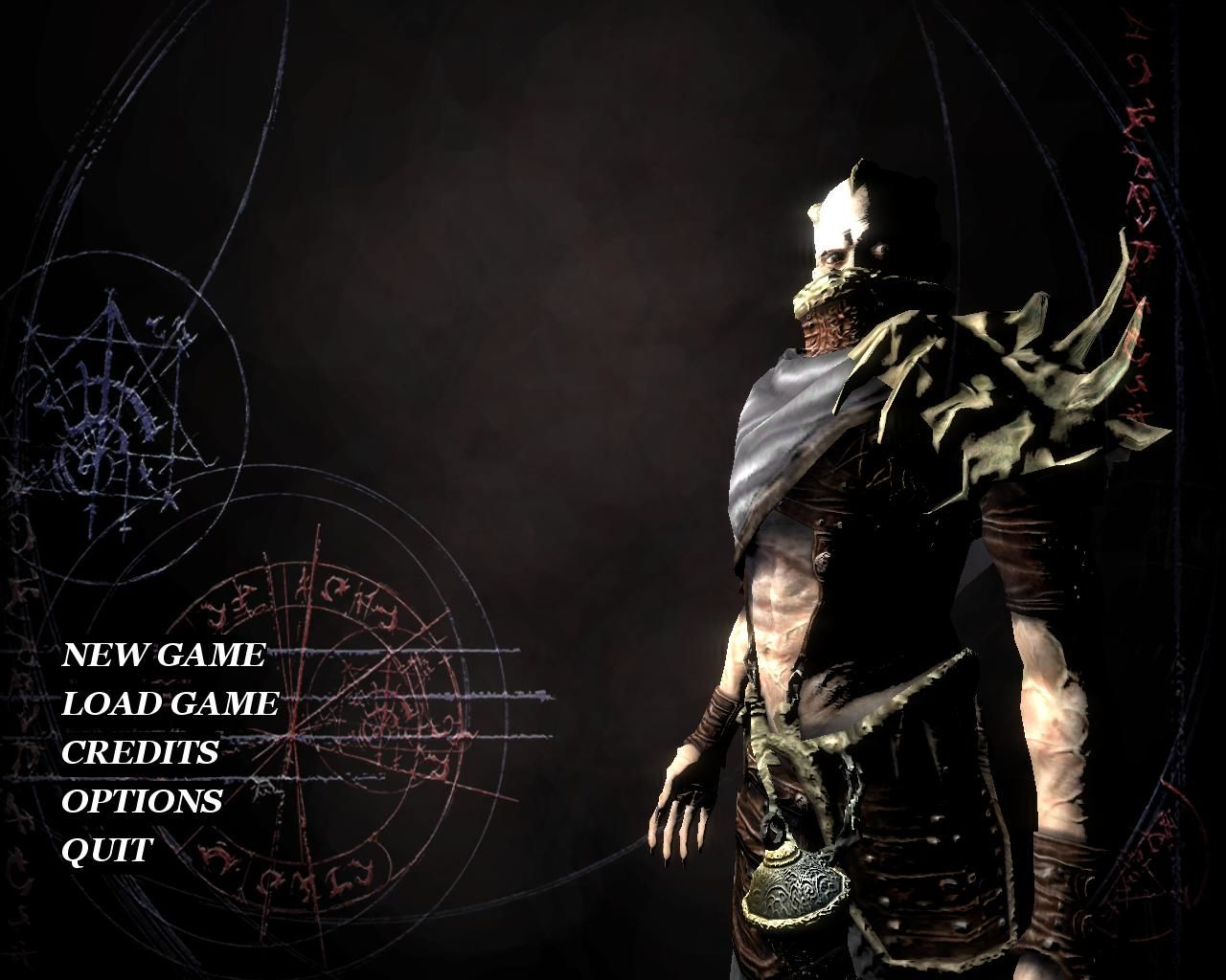 Dark Messiah: Might and Magic Windows Main menu