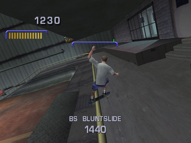 Tony Hawk's Pro Skater 3 PlayStation I don't think he is going to make it.