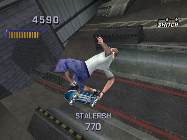 Tony Hawk's Pro Skater 3 PlayStation Tony Hawk, master of the McTwist.