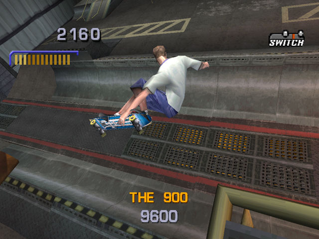 Tony Hawk's Pro Skater 3 PlayStation 900!