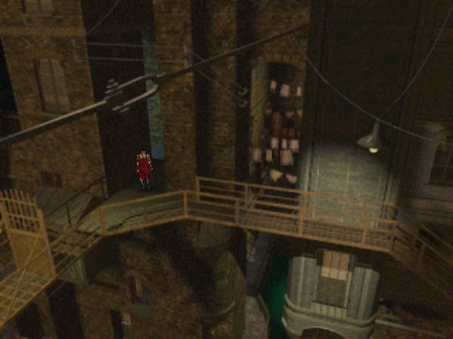 The City of Lost Children PlayStation Higher up in the dirty, depressing city